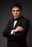 biznesowy klasyczny męski portret Fotografia Stock