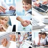 biznesowy kolaż Zdjęcia Stock