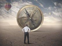 Biznesowy kompas Obrazy Royalty Free