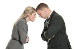 biznesowy konflikt Zdjęcia Stock