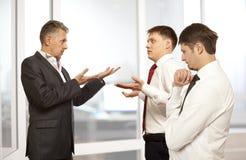 Biznesowy konfliktu pojęcie Zdjęcia Stock