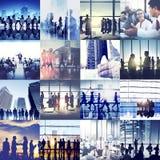 Biznesowy Korporacyjny Drużynowy współpracy sukcesu początku pojęcie obraz stock