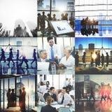 Biznesowy Korporacyjny Drużynowy współpracy sukcesu początku pojęcie zdjęcie royalty free