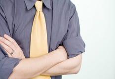 biznesowy koszulowy krawat Zdjęcie Royalty Free