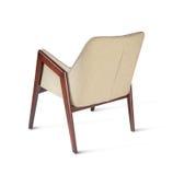 Biznesowy krzesło dato che praca, i relaksujemy, odizolowywaliśmy, Obraz Royalty Free