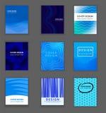 Biznesowy Książkowej pokrywy projekta szablon royalty ilustracja