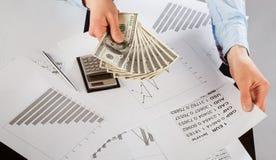 Biznesowy księgowego działanie Zdjęcia Stock
