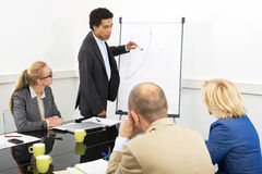 Biznesowy kurs Zdjęcie Stock