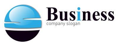 biznesowy logo Zdjęcia Royalty Free