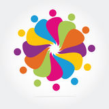 Biznesowy logo Obraz Royalty Free