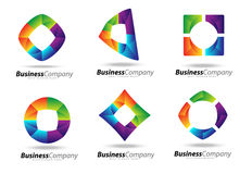 Biznesowy logo Fotografia Stock