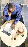 biznesowy lunch Zdjęcia Stock