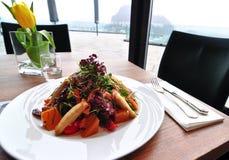 biznesowy lunch Fotografia Royalty Free