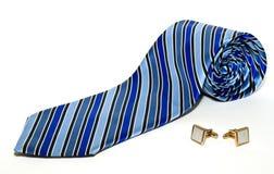 biznesowy mankiecików stylu krawat Zdjęcia Royalty Free
