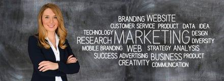 Biznesowy marketing Zdjęcie Royalty Free