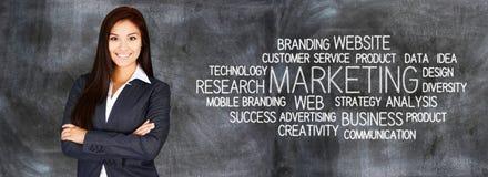 Biznesowy marketing Zdjęcia Stock