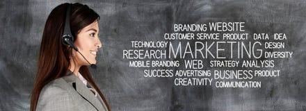 Biznesowy marketing Obraz Royalty Free