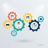 Biznesowy mechanizmu pojęcie Zdjęcie Royalty Free