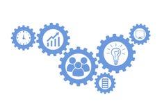 Biznesowy mechanizmu pojęcie Zdjęcia Stock