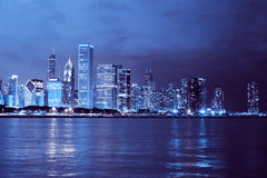 Biznesowy miasto (Chicago) fotografia stock