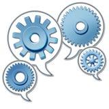 biznesowy networking ilustracji