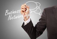 Biznesowy networking zdjęcia stock