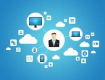 Biznesowy networking pojęcie Zdjęcia Royalty Free