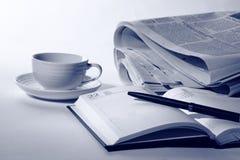 Biznesowy śniadanie Fotografia Stock