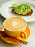 Biznesowy śniadanie Obraz Royalty Free