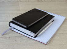 Biznesowy Notepad zdjęcie royalty free