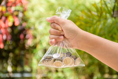 biznesowy oszczędzanie pieniądze pojęcie Fotografia Royalty Free