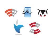 Biznesowy oznakuje logo ilustracji