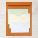 Biznesowy papieropodobny mockup Obraz Royalty Free