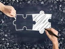 biznesowy partnerstwa pojęcie Fotografia Stock