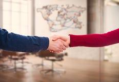 Biznesowy partnerstwo i współpraca zdjęcie stock