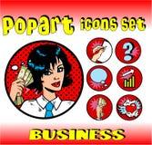 biznesowy pieniądze znaków wierzchołek Zdjęcia Royalty Free