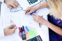 Biznesowy planowanie Zdjęcie Stock