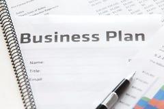 Biznesowy planowanie Obraz Stock