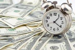 biznesowy pojęcia pieniądze czas Obrazy Stock