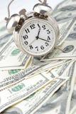 biznesowy pojęcia pieniądze czas Obrazy Royalty Free