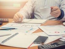 Biznesowy pojęcie biurowy działanie, biznesowy tło Zdjęcie Stock