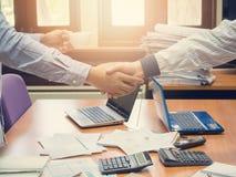 Biznesowy pojęcie biurowy działanie, biznesowy tło Zdjęcia Stock