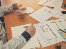 Biznesowy pojęcie biurowy działanie, biznesowy tło Fotografia Royalty Free
