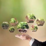 Biznesowy pojęcie CSR lub Korporacyjna odpowiedzialność społeczna Obraz Royalty Free