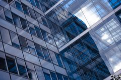 Biznesowy pojęcie - korporacyjny budynek fotografia stock