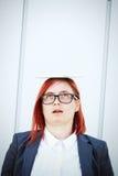 Biznesowy pojęcie sukces i negocjacja Kobiety ` s szef, wewnątrz fotografia royalty free