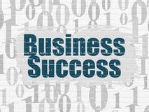 Biznesowy pojęcie: Biznesowy sukces na ściennym tle Obraz Stock
