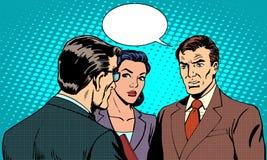 Biznesowy pojęcie warsztata biznesmen ilustracji