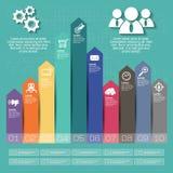 Biznesowy pojęcie z opcjami, częściami, krokami lub procesami 10, Obrazy Stock