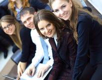 biznesowy pomyślny drużynowy działanie Zdjęcie Royalty Free